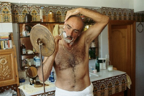 Sean Connery Chest Hair Shaving