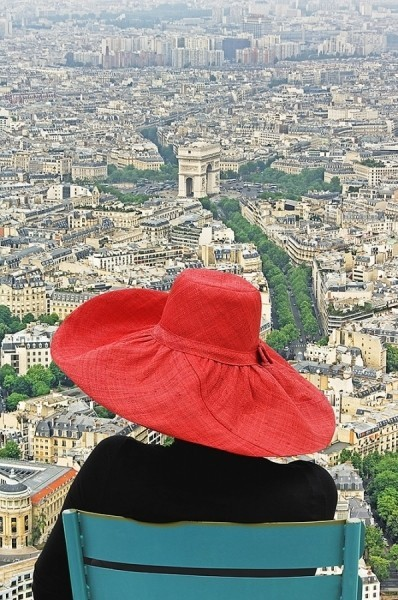 Paris is worth a red hat