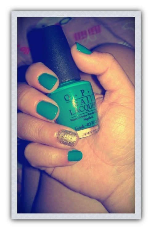 opi fly from niciki minaj collection is a  medium sky blue color!