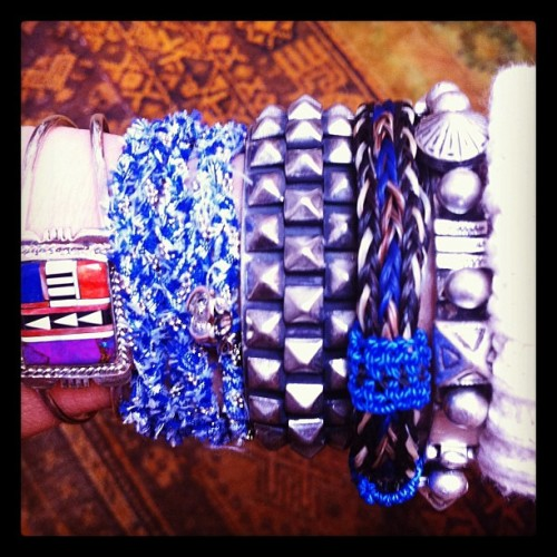 "It's the one-of-a-kind ""Legends of the waterfall"" #armparty only 1 available on www.DANNIJO.com (Taken with instagram)"