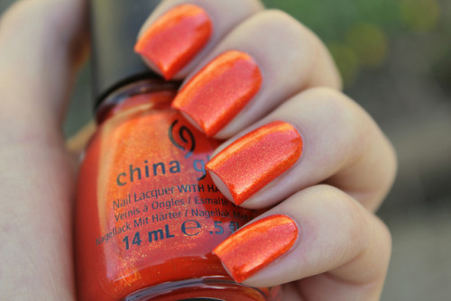 China Glaze Riveting on Flickr.So pretty! I really like this color! www.coewlesspolsh.wordpress.com