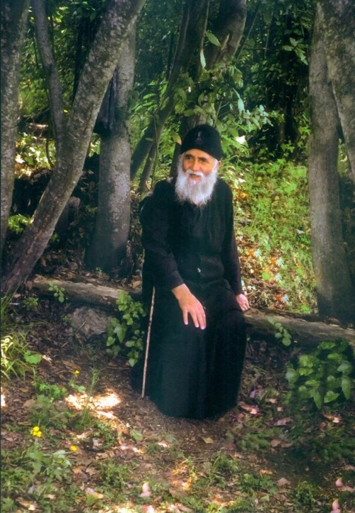 Our beloved humble elder Paisios of the Mount Athos