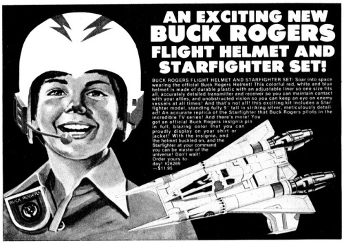 Flight Helmet and Starfighter Set!