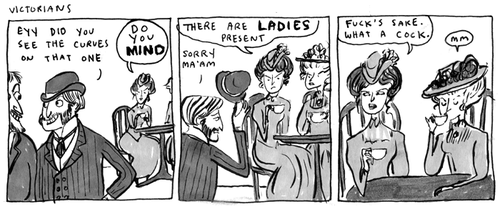 ladyavenal:  Kate Beaton…..FUCK yea!!!