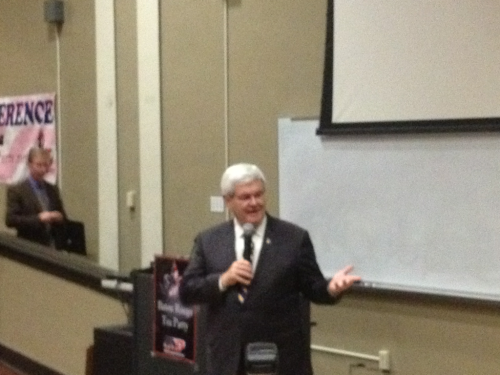 Speaker Gingrich at LSU!!