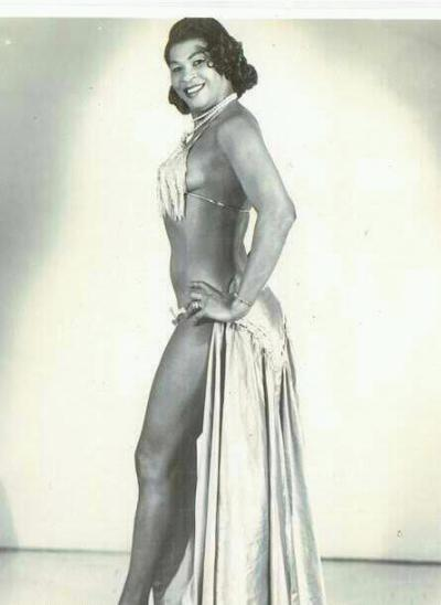 Lawanda Page known to you as Aunt Ester (Sanford & Son)  She also used to be a fire eater. All you Vinyl heads will would be happy to know she has quite a few comedy albums. They are very raunchy/blue but very funny.  now you know.