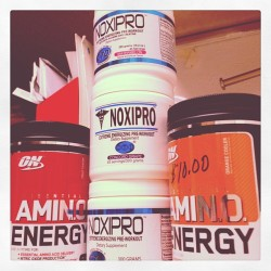 #marchfitnessphotoaday 23: ENERGY. Best workout buddies.  (Taken with instagram)