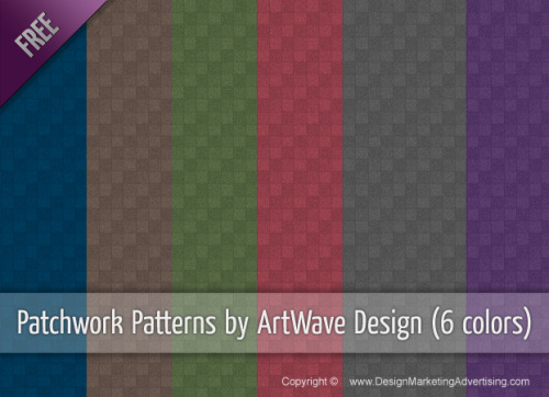 Free textured patchwork patterns by ArtWave Design - Just click on the photo to go to the Download page :o)