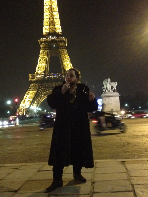 yamborghini:  TRILL NIGGAS IN PARIS  The nigga Yams tho.. lls