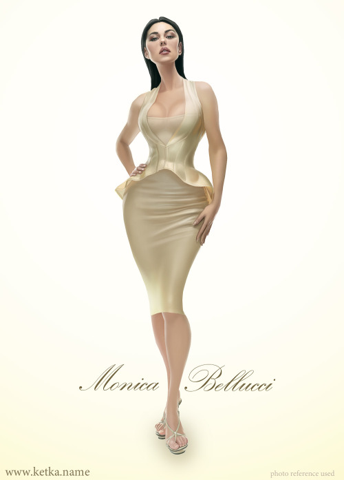 Monica Bellucci by Maria Trepalina Website / Blog / deviantART / Facebook