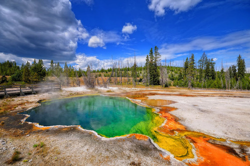 "earth-song:  Colors of Yellowstone"" by Philippe Sainte-Laudy"