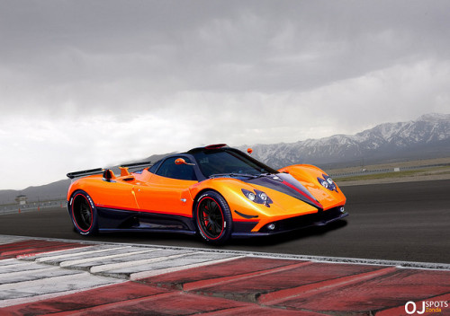 Pagani Zonda F (mixed) *explored* by OJ°● on Flickr.