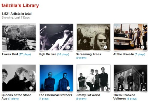 my last.fm for the week of 03.17.12 - 03.23.12