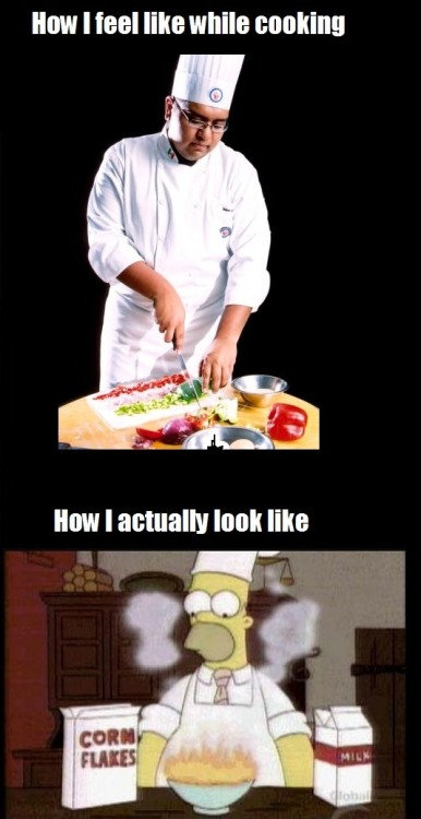 Cooking: Feel vs Reality