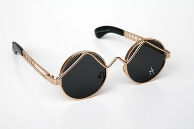 "Feed Your Eyes: Haute sunglasses by HiTek, at first I thought John Lennon inspired but they kinda remind me of Kadeem Hardison's glasses slash sunglasses from ""A Different World"""