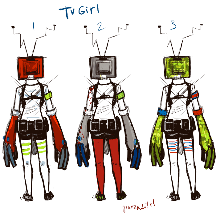 TV Girl color ways.