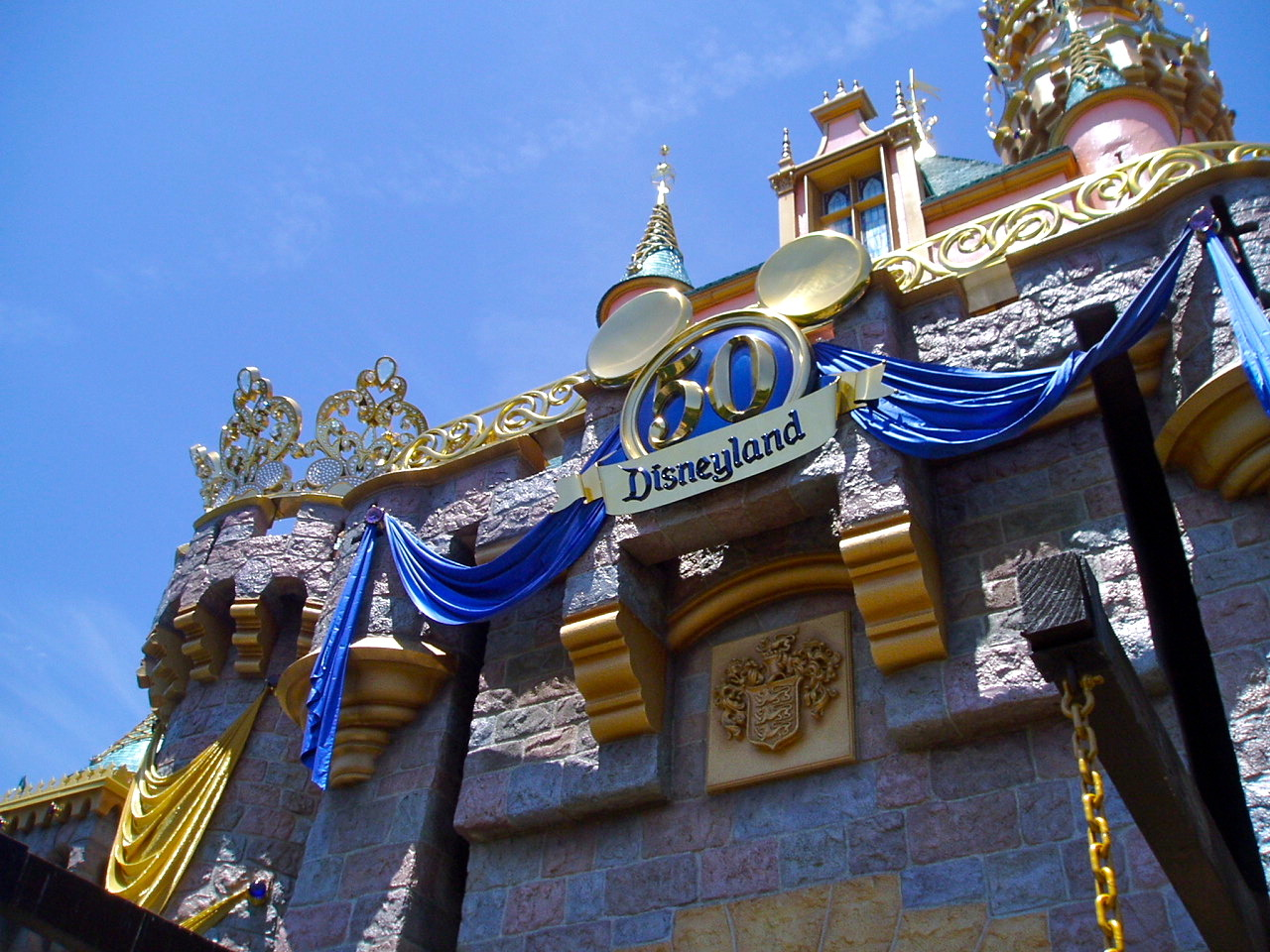 36 Days to Go —> Fifth Disney trip (third to Disneyland). Mandy and I just happened to take our first-ever-just-us-bffs-grown-up trip when Disneyland's 50th Anniversary celebrations were beginning. 2005.