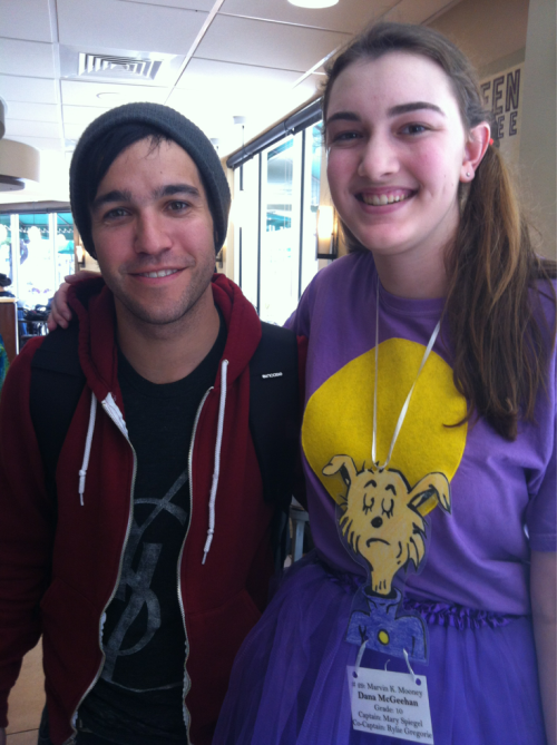 tyleroakley:  spellczech:   ahomeboyslife: danamcg:  today, I met pete wentz.yes, I am fully aware that I look like the spawn of a flying idiot and an obese, sunburned asian.pete wentz was super rude and small.he had what I like to call a napoleon complex.  oh weird. i remember asking you and your friend about your outfits and taking pictures with both of you then saying have a nice day.  super rude. if it was such a poor experience it seems strange to share it on tumblr. p.s. you shouldn't be so hard on yourself, its a silly way to go through life.     Boom.