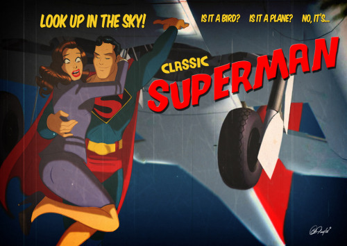 herochan:  Classic Superman Created by Des Taylor (via:riser)