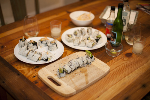 japanlove:  Sushi Night by Zlatko Unger on Flickr.