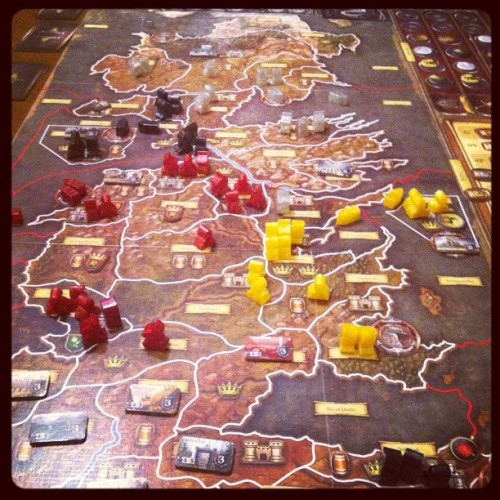 Game of Thrones #boardgames #gamenight (Taken with instagram)