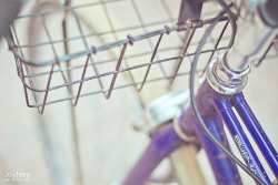 Blue Bicycle by JoyHey on Flickr.