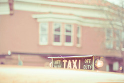 Pastel Taxi by JoyHey on Flickr.