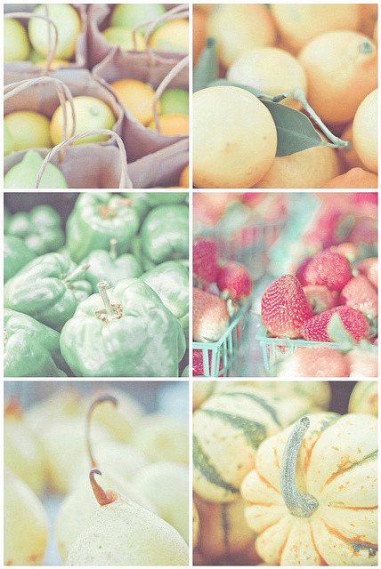 Pastel Fruits by JoyHey on Flickr.