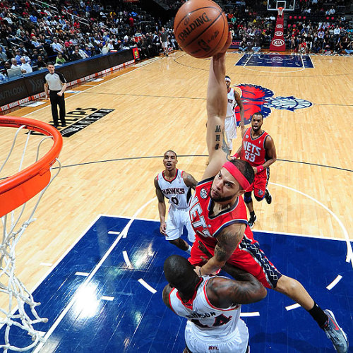 Deron Williams, New Jersey Nets [Image Source: NBA.com; Photographer: Scott Cunningham/NBAE/Getty Images]