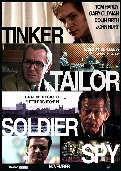 Okay so todays film review is Tinkor Tailor Soldier Spy.This film is absolutely brilliant. If you go and see it (which you should) be prepared for a huge mind fuck! The plot is marvelous so I will not ruin it for you. The actors in this were truly superb! Gary Oldman plays the lead, and he does it so well. Everything is lurking behind those glasses and he should of won the oscar for his performance. Colin firth is a supporting role and (though my opinions will be biased towards his performance because I am probably his biggest) he was fantastic. Ive never seen him play a role like this before which is good!The film is very sexy, and you will probably be at the end of your seat the entire time. It is one of those films that you will want to see again and again. Although you might have to too understand the plot properly. I hope you all go and see it! I give is 4 of out 5 stars! :)Stick around for tomorrows film review which will be A Single Man. :)