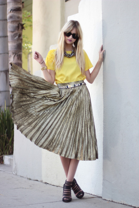 What do you think of the pleated skirt trend for the Spring? Is it a yay or nay in your style book?