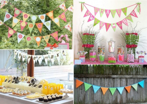 I love this fun bunting!