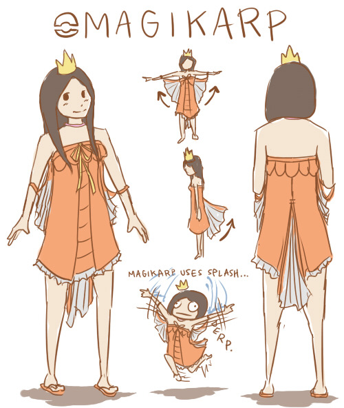 daiyi:  Magikarp cosplay plans for Comic Con :'D