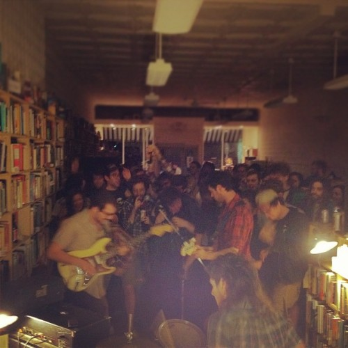 The Clippers in a bookstore tonight. (Taken with instagram)