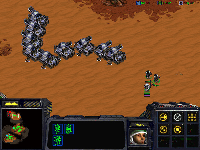 accidentally made a back to front question mark in starcraft broodwar, and thought what the hell am I doing with my life >.<