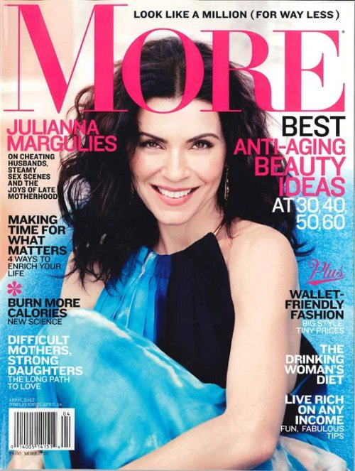 Julianna Margulies (More magazine, May 2012)