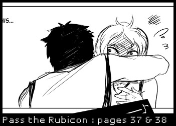 Two new Pass the Rubicon pages are up~ http://www.mangamagazine.net/manga-and-comics/Pass-The-Rubicon/detail-page/205