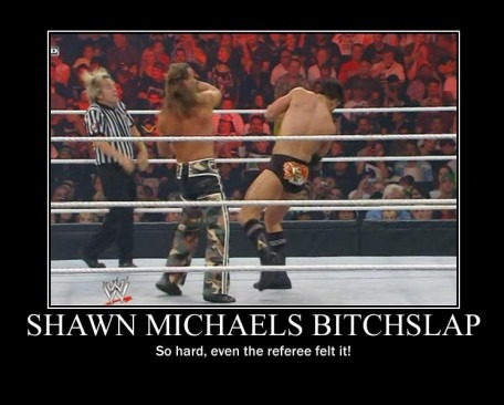 epicmeme:  So hard,even the referee felt it!