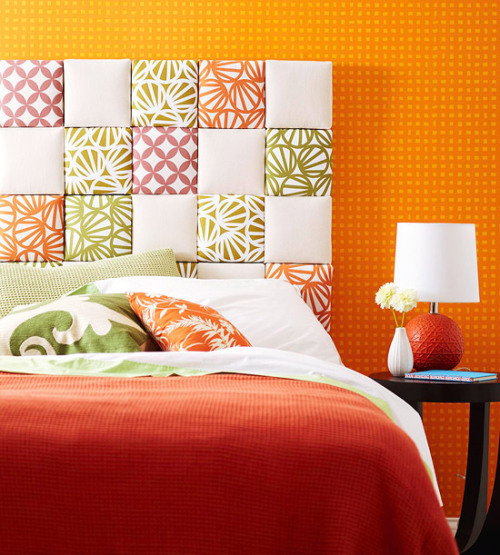 prettylittlepieces:  Easy Upholstered Headboard