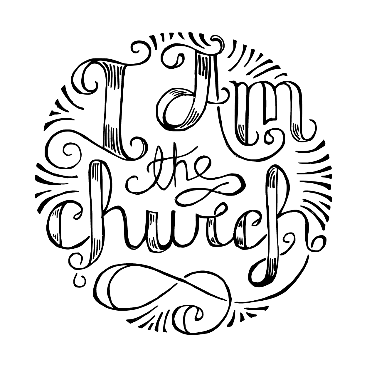 I Am the Church : by @kylesteed