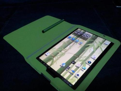 Finally found a green case and green stylus for my tab 7.7…