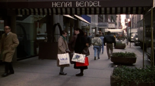 Henri Bendel, former location at 10 West 57th Street.