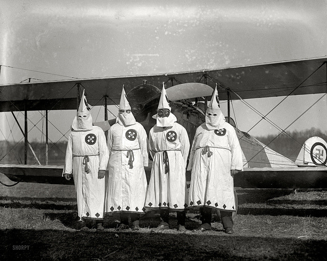 "March 18, 1922. ""Ku Klux Klan."" by amphalon on Flickr."