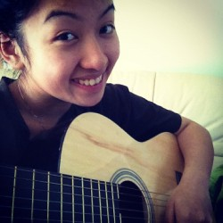 Relaxing with my guitar on a beautiful day. :) #music #musicismylife #love #relaxing #girl  (Taken with instagram)