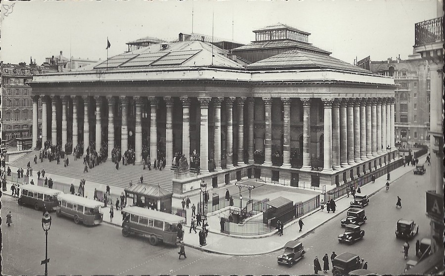 Brongniart's Stock Exchange building, Paris