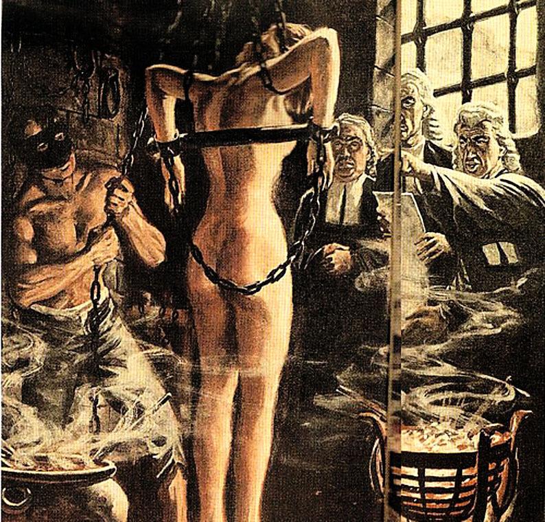 3d torture witch dungeon inquisition   hot girls wallpaper