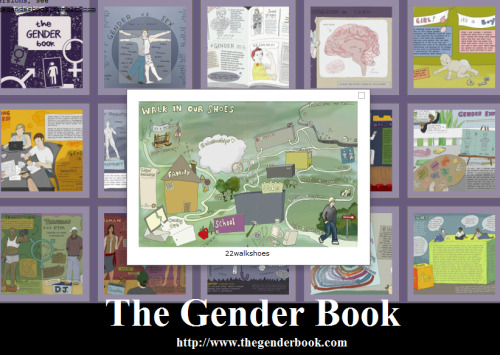 LGBTQ* Websites and Books You Should Know The wonderful authors and illustrators of THE GENDER BOOK have released a new 60 page color booklet for you to read, download, print, and share. Check out their homepage HERE Print and share the newest edition HERE