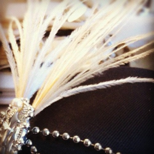 Feathers, silver and pearls! What's up with that? #film #photoshoot #mood #photo #accessoar #art #styling #vintage #fashion #feather #20s (Taken with instagram)