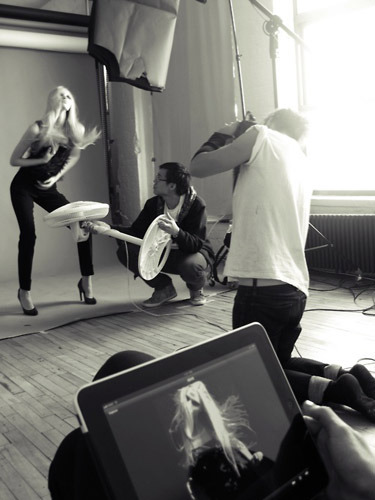 Behind the Scenes Fashion Gone Rogue Editorial + Rocking Capture Pilot Ipad App! see the editorial here: http://fashiongonerogue.com/yulia-lobova-liam-alexander-fashion-rogue/