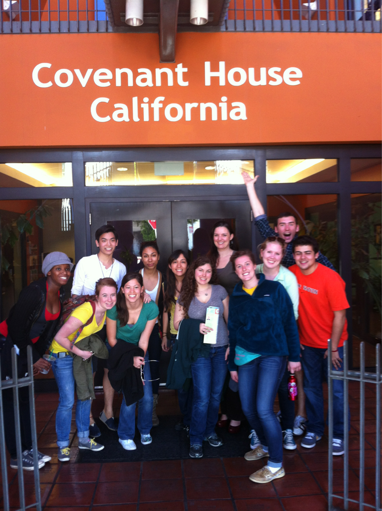 Covenant House was an impressive and inspiring stop on Thursday. The organization has shelters across the US, as well as locations in Latin America. Their pragmatic approach to youth homelessness, with a strong sense of what their organization could and couldn't do, made our group think about the bounds of service and the necessity of knowing when to refer people elsewhere.